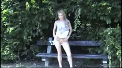 Cute Blond Teen Nude In Public! by triplextroll